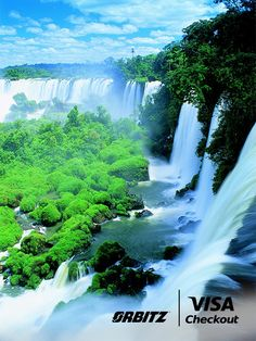 Worlds Most Amazing Waterfalls - Iguazu Falls Argentina! Places Around The World, Oh The Places You'll Go, Great Places, Places To Travel, Places To Visit, Around The Worlds, Puerto Princesa, Beautiful Waterfalls, Beautiful Landscapes