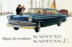 Opel Kapitaen. 1959