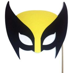 PHoto Booth Props- Wolverine Mask - X Men Mask - Super Hero- Photo Booth Props