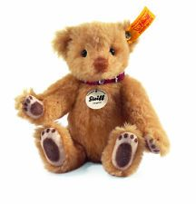 STEIFF Classic Teddy Bear Strawberry Blond New Free Steiff Gift Box EAN 027741