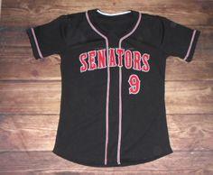 Have a look at this custom jersey designed by Senators Baseball and created at Garb Athletics! http://www.garbathletics.com/blog/senators-baseball-custom-jersey/ Create your own custom uniforms at www.garbathletics.com!