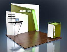 10x10 Custom Trade Show Displays - Exhibit Options