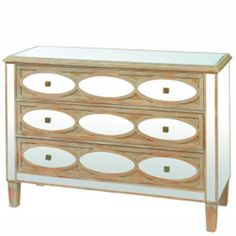 Mirrored Chest of Drawers, available at Browsers, Limerick, Ireland and online at www.browsers.ie.