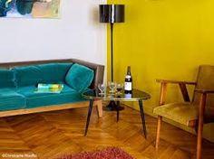 """Résultat de recherche d'images pour """"rideaux jaune moutarde"""""""
