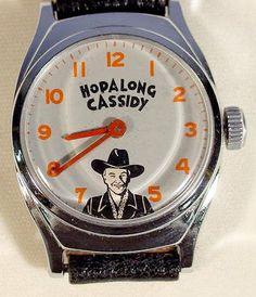 Hopalong Cassidy | 75A: Hopalong Cassidy Wrist Watch