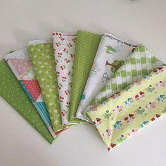 Green Fabric Bundle Glamperlicious Samantha Walker Riley