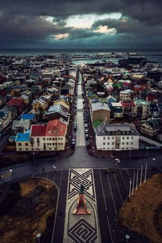 Reykjavik, Iceland-10 Most Beautiful Island Countries in the World
