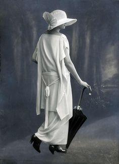 Crêpe georgette, 1923.