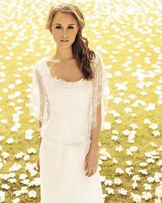 Rembo Styling Wedding Dress - Bridal Shop in London Wedding Dresses 2014, Wedding Dress Chiffon, Wedding Gowns, Bridal Gowns, Rembo Styling, Lovely Dresses, Vintage Dresses, Flower Girl Dresses, Different Wedding Dresses