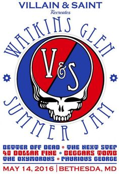 Villain & Saint in Bethesda is kicking off summer by recreating one of the ultimate summer jam sessions of all time. On Saturday, May. Summer Jam, Watkins Glen, Family Events, Chicago Cubs Logo, Festivals, All About Time, Saints, Kicks, Amp