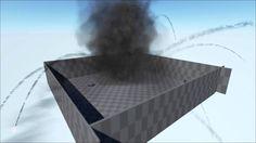 Unreal Engine 4 - Huge Fluid Explosion