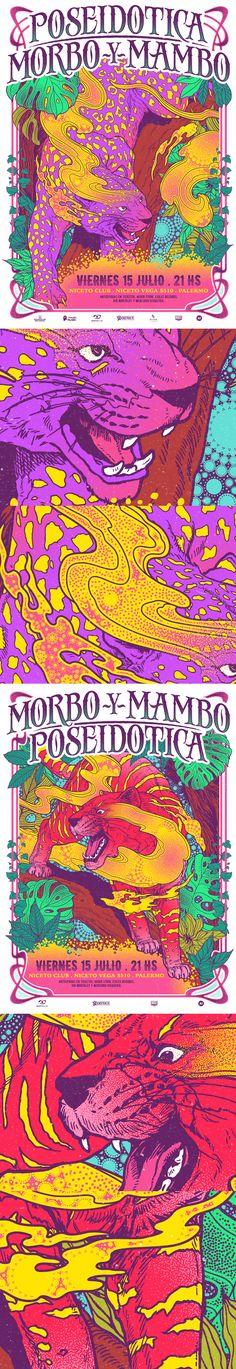 POSEIDOTICA / MORBO Y MAMBO / Poster on Behance
