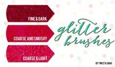 free photoshop glitter brushes by Twist+Snag Free Photoshop, Photoshop Brushes, Photoshop Tutorial, Photoshop Actions, Stylish Text, Photoshop Illustrator, Text Design, Blog Design, Photoshop Elements