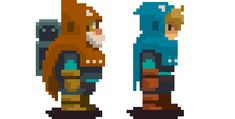 Gamasutra: Bryce Kho's Blog - Aegis Defenders & Nausicaa - Character Design Process