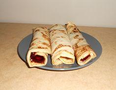 Palačinky (Czech Pancakes-Crepes)