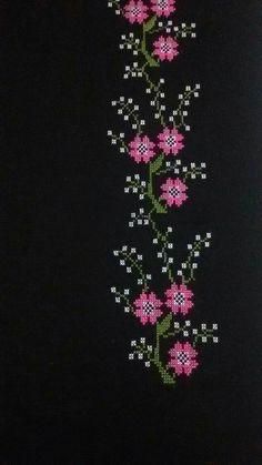 This Pin was discovered by Ays Crewel Embroidery, Christmas Cross, Baby Knitting Patterns, Diy And Crafts, Cross Stitch, Brooch, Jewelry, Crochet Ideas, Crochet Flowers