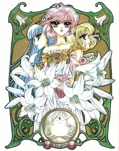 CLAMP - Magic Knight Rayearth 【Marine Lucy, Anne & Mokona】