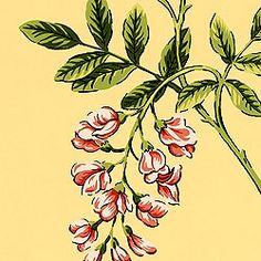 Island Leaves (detail) (Thibaut)