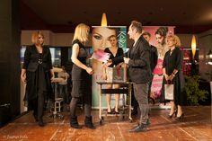 Decernare premii --- Concursul anual de tinere talente in Make up & Hairstyling - Oradea, 2014 NEW BEAUTY TALENT. Organizator: Cosmo Beauty School - Oradea