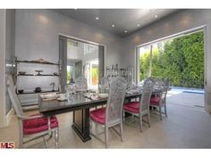 Beautiful formal dining room.  Beverly Hills, CA $6,595,000