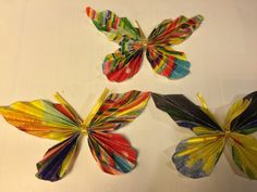 First buterflies made with my doughter.