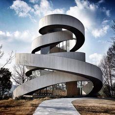 Ribbon Chapel by Hiroshi Nakamura &  Nacasa and partners