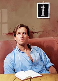 """Armie Hammer as Oliver in """"Call Me by Your Name"""""""