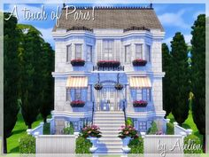 This cute little house is perfect for your small family of sims, they will love this charming abode! Found in TSR Category 'Sims 4 Residential Lots'