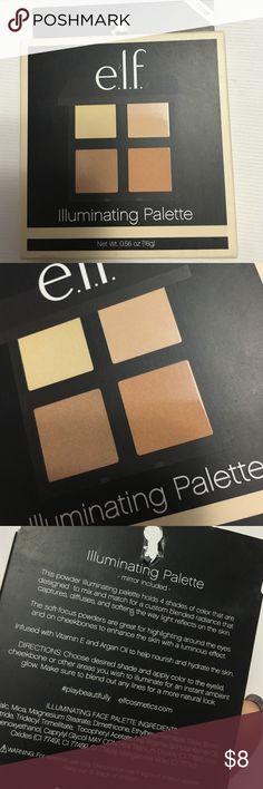 Elf illuminating palette New! ELF Makeup Luminizer