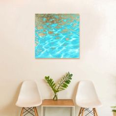 Oliver Gal Pristine Waters Canvas Art - Casafina