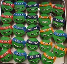 teenage mutant ninja turtles cupcakes -