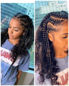 65 Amazing Box Braids Hairstyles And Haircuts . 65 Amazing Box B Feed In Braids Hairstyles, Baddie Hairstyles, Indian Hairstyles, Girl Hairstyles, Braided Hairstyles Natural Hair, Braids On Natural Hair, Natural Protective Hairstyles, 1920s Hairstyles, Black Hairstyles With Weave