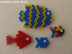 Hama bead fish pattern