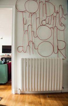 Décoration murale chez Veronica Fanfani