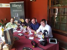 Programa #Brotesverdes de @GENTERADIO en la Casa del Vino con @jorgedm1964 @pasteleriadiaz @dperezalonso y @carlosggonzalez