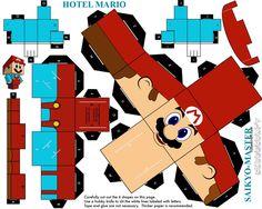Hotel Mario Cubeecraft by Saikyo-Master