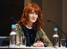 Florence Welch Photos - Florence Welch of Florence & the Machine attends the Nobel Peace Prize Concert press conference at the Plaza Hotel on December 11, 2010 in Oslo, Norway. - Nobel Peace Prize Concert - Press Conference