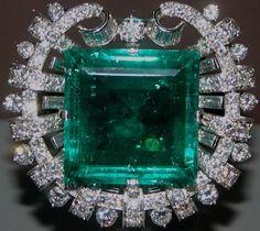 RP: Emerald Diamond Ring