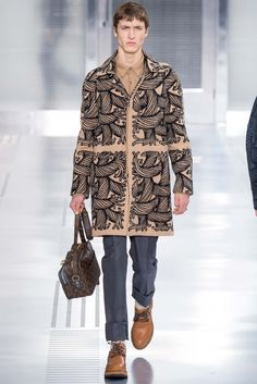 Louis Vuitton - Fall 2015 Menswear - Look 6 of 39