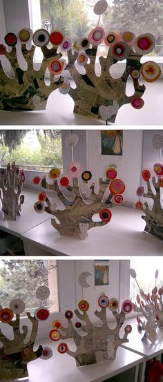 Love this colour upcycling Kandinsky inspired project - Have you been inspired by Kandinsky's work too?