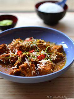 Chicken Recipes : Cheats Malaysian Curry Chicken Recipe