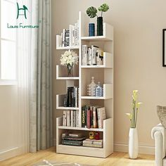 Fashion Bookcases Bookshelf Landing Modern Children Shelf Creative Living Room Storage Cabinet Simple Locker-in Bookcases from Furniture on Bookshelves In Living Room, Living Room Cabinets, Living Room Storage, Living Room Furniture, Home Furniture, Furniture Design, Simple Furniture, Bookcases, Modern Furniture