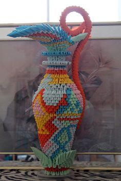 Vase - 3D Origami
