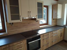 kuchyně, inspirace Bob, Kitchen Cabinets, Home Decor, Decoration Home, Room Decor, Bob Cuts, Cabinets, Home Interior Design, Bob Sleigh