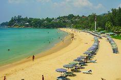 Kata Noi Beach view from south, Phuket
