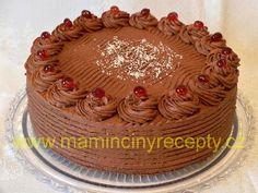 Pařížský krém – Maminčiny recepty Cupcake Cakes, Cupcakes, Tiramisu, Diy And Crafts, Muffins, Recipies, Cheesecake, Food And Drink, Birthday Cake