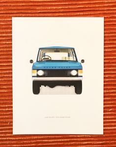 The Classic 1970 Range Rover... part of our Overland Print Series.  For updates on new prints and details about how get them, follow us on Instagram or Facebook!  #landrover #defender #offroad #4x4 #rangerover #artprints #forsale #digitalpaint #vehicle