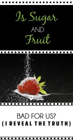 Are Sugar And Fruit Bad For Us? (I Reveal The Truth). Learn how fruit can improve your health and wellbeing. Fruit Recipes, Real Food Recipes, Healthy Recipes, The Truth About Sugar, Best Green Smoothie, Fruit List, Fruit Party, Healthy Diet Plans, Fruit Smoothies
