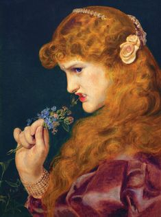 The Athenaeum - Love's Shadow (Anthony Frederick Sandys)