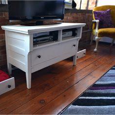 Idea for repurposing the old dresser